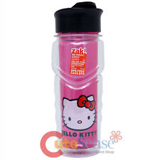 Sanrio Hello Kitty Tritan Water Bottle Clear Pink 18Oz Tumbler Travel Bottle
