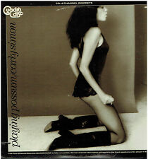 CARLY SIMON - Playing Possum - Original 1975 US 10-track Quadraphonic vinyl LP