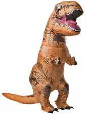 Adult Size Inflatable Jurassic T-REX DinosaurCostume Birthday Cosplay Party Gift
