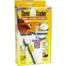 As Seen On TV Clever Cracker & Scrambler Egg White / Yolk Seperator EZ (4 PCs)