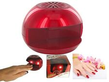 NEW PORTABLE QUICK EASY DRY BEAUTY MANICURE PEDICURE NAIL POLISH BLOW DRYER FAN