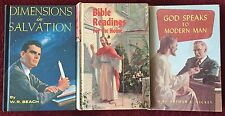 SDA Book Trio: Dimensions in Salvation ~ Bible Readings ~ God Speaks to Mod. Man