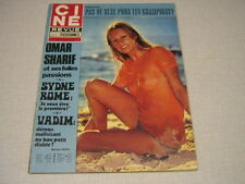 CR 75/24 (12/6/75) OMAR SHARIF MONIQUE PRIVAS PERRINE KRISTEL PIAT DELON  (2)