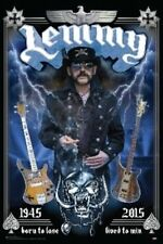 LEMMY - MOTORHEAD - TRIBUTE POSTER - 24x36 - BORN TO LOSE LIVED TO WIN 3269