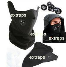 Hot Ski Snowboard Motorcycle Bike Winter Sport Face Mask Neck Warmer Warm Black