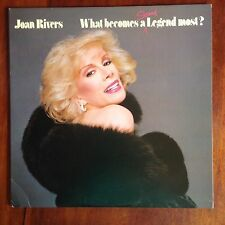 "Joan Rivers What Becomes Geffen Comedy LP 1983 33RPM 12"" MINT"
