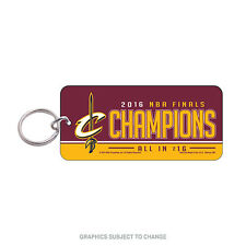 2016 NBA Finals Champions Cleveland Cavaliers Acrylic Key Ring Glossy