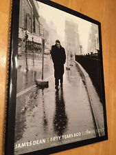 James Dean: Fifty Years Ago By Dennis Stock Photo Essay Book EUC