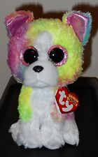 """Ty Beanie Boos - ISLA the 6"""" Claires Exclusive Bulldog / Dog ~ 2017 BRAND NEW"""