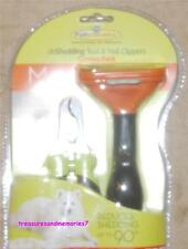 AUTHENTIC FURMINATOR Professional deShedding Tool & Nail Clip LONG HAIR - MEDIUM