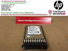 "HP 146GB 6G 15K 2.5"" SAS Dual Port Hard Drive ** 512547-B21 / 512744-001 **"