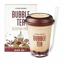 [Ship by USPS] ETUDE HOUSE Bubble Tea Sleeping Pack 100g - Black Tea
