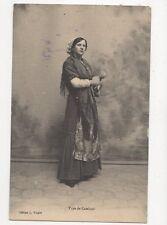 Type de Catalane France Vintage Postcard 273a