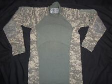 ACU SHIRT MASSIF GEAR COMBAT SMALL wot MADE USA MILITARY FRACU DIGITAL CAMO ow