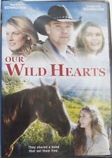 """""""OUR WILD HEARTS"""" RICKY & CAMBRIE SCHRODER (DVD, 2013) BRAND NEW & SEALED!"""