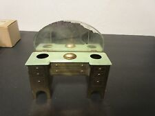 VINTAGE DOLL HOUSE FURNITURE BRASS  Vanity (Vanette) WITH MIRRORS DRAWERS