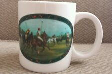 RALPH LAUREN POLO COFFEE CUP Equestrian Horse Polo Match VINTAGE COLLECTIBLE CUP
