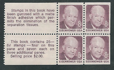 Scott #1395c...8 Cent...10 Booklet Panes of 4....Eisenhower....40 Stamps