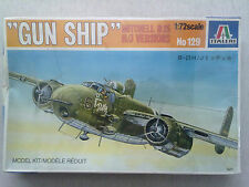 "Italeri 129 ""Gun Ship"" Mitchell B25H/J Versions 1:72 Neu & versiegelt"