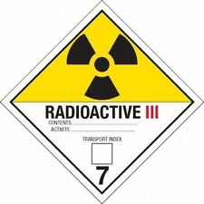 (10) Back to the Future Radioactive Plutonium Case Sticker