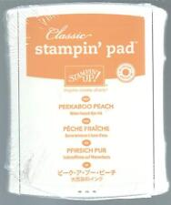 New Stampin' Up! PEEKABOO PEACH Dye Classic Ink Pad In Color