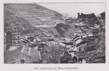 1910  --  VUE GENERALE DE MAS CABARDES    3J716