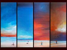 M. bineton 4er set 'Endless skies I-IV' poster image Art pression 70x25cm