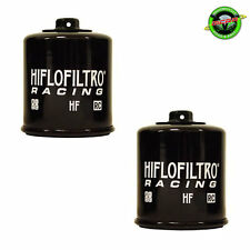 2x Hiflo HF138RC Racing Oil Filter - Suzuki GSXR600 SRAD 1997-2000