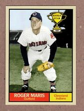 Roger Maris 1957 Cleveland Indians Rookie Stars series #1 Monarch Corona