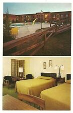 Quality Inn Cave City Kentucky KY Pool guest room Post Card Motel Hotel