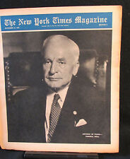 Cordell Hull New York Times Magazine Entire Section 6 November 18, 1945