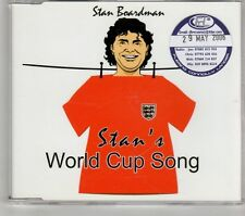 (GT649) Stan Boardman, Stan's World Cup Song - 2006 DJ CD
