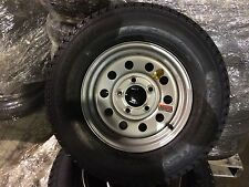 "175/80D13  TRAILER TIRE WITH 13"" SILVER MOD WHEEL 13 INCH BOAT UTILITY TRAILER"