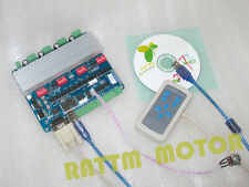 4 Axis TB6560 USB CNC Stepper Motor Driver Board + Remote Handle for CNC Router