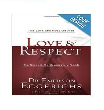 Love and Respect by Emerson Eggerichs (Paperback – Large Print) Free Shipping