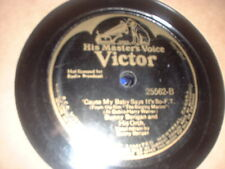 78RPM Victor 25562 Bunny Berigan, 'Cause My Baby Says It's So / U Cant Run Aw V-
