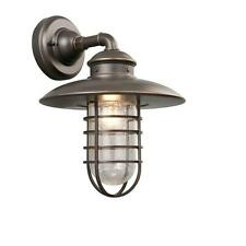 1-Light Outdoor Exterior Bronze Wall Lantern Lighting Fixture Porch Patio Lamp