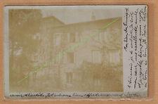 Carte Photo vintage RPPC Auvergne Aurec sur Loire maison mas villa kh084