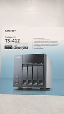 QNAP Turbo NAS TS-412 All In One Business Home Network Storage Server w/Drives *