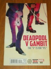 DEADPOOL V GAMBIT #2 MARVEL COMICS NM (9.4)