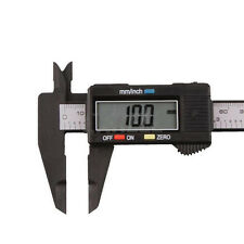 150mm LCD Digital Electronic Carbon Fiber Vernier Caliper Gauge Micrometer