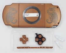 Brown Housing Faceplate Case Cover for PSP 2000 Slim ( MH )