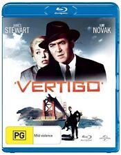 Vertigo (1958) James Stewart, Kim Novak - NEW - Blu-Ray - Region B