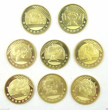 The Beijing 2008 Olympics Coins Complete 8 Pieces