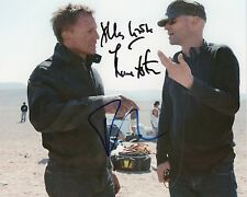 DANIEL CRAIG & MARC FORSTER Signed 10x8 Photo QUANTUM OF SOLACE JAMES BOND COA
