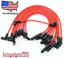 NEW Racing 9mm RED Spark Plug/Ignition Wire Set for Ford 5.0L 5.8L, SB SBF 302