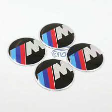 4x M-tech Car Wheel Center Hub Cap Emblem Badge decal Sticker For BMW All Models