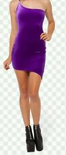 black milk purple velvet kapow! dress