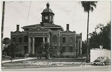 Citrus County Court House and Honor Roll, Inverness, Florida RPPC