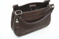 FOSSIL BROWN LEATHER HAND BAG PURSE